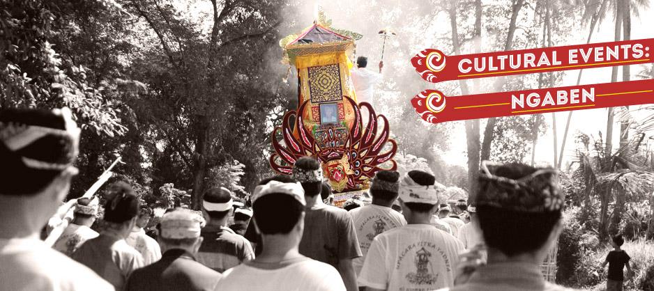 Cultural Event Ngaben