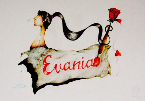 Visualisasi Diri-Evania Santosa