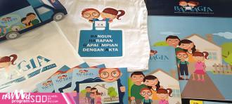 Pameran UAS DKV 5 Kampus Alam Sutera kerjasama DKV New Media dengan LOWE