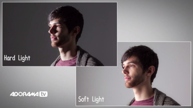 hard & soft light
