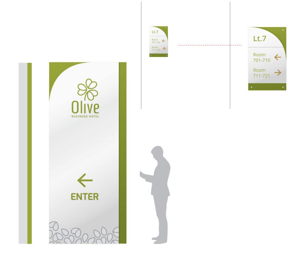 Karya_Identitas Visual Hotel Olive