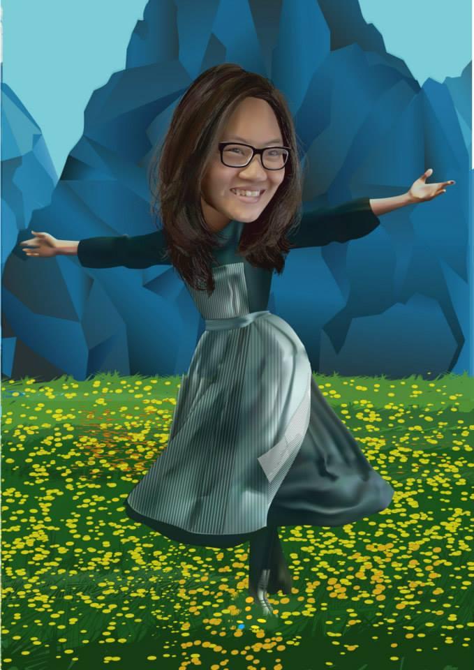 jasmine kristanto- vector karikatur
