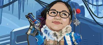 Karya Mahasiswa Komputer Grafis I : Karikatur Yukari Putri