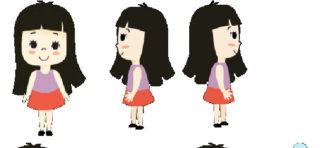 Konsep karakter (Tugas New Media I) oleh Nadya Jamila Ummuhany