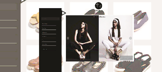 Redesign Website Fashion  Festival    ( 13Th Shoes Indonesia ) karya Antony wongso