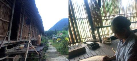 Suasana kabupaten Sintang, Kalimantan Barat. Dokumentasi: Sari Wulandari.