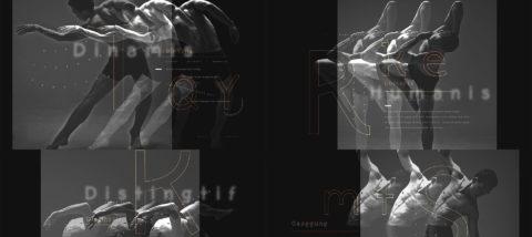 Huruf: Okwud Sans 02. Desain: Perwira Gandhira. Studio: Tugas Akhir.