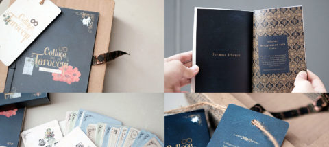 Publikasi: Collage dei Tarocchi. Desain: Annisa Anindita. Studio: Tugas Akhir.