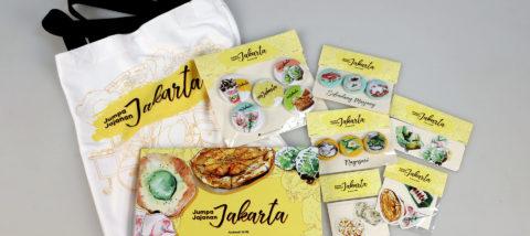 Publikasi: Jumpa Jajanan Jakarta. Desain: Ardianti Nourindah. Studio: Tugas Akhir.