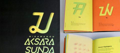 Publikasi: Pengenalan Aksara Sunda. Desain: Theofilus Kulit. Studio: Tugas Akhir.