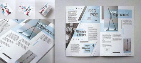 Booklet: Estetika. Desainer: Stephen Darmadi. Mata Kuliah: Estetika.