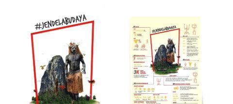 Kampanye: Jendela Budaya. Desain: Theofilus Kulit. Studio: DKV.