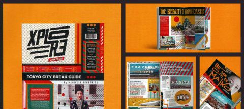 Newsletter: Explore. Desain: Pramuditho. Studio: Tipografi.