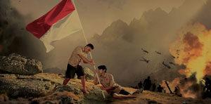 Komposisi Digital Tema Indonesia masa Perjuangan